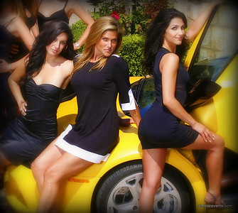 "ATeam ""Sizzling"" Photo Shoot - Alyssa, Amey & Samira"