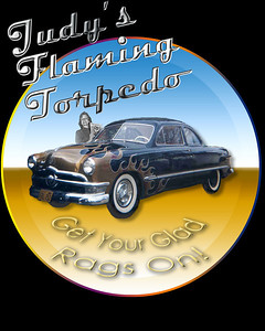 Judy and the 50 Ford Flaming Torpedo