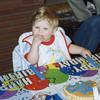 Nicholas Likes Birthday Cake