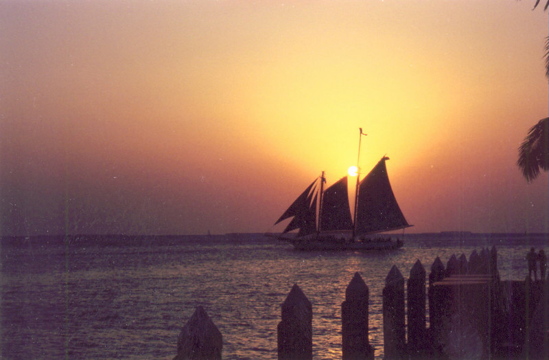 Poor scan of a picture I took in Key West back in the 90's.  Good pic but I need to get a good scan on the neg.