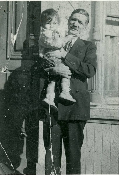 Grandpa George Pagonis and Ronnie, San Francisco