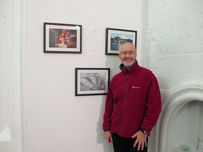 Matt Roberts exhibits at the Camerada exhibition