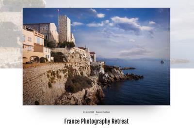 France Photo Retreat