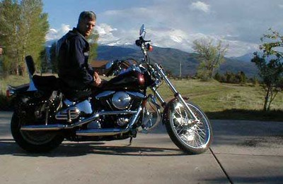 Me on my Harley in 2004.at Prince Dr.