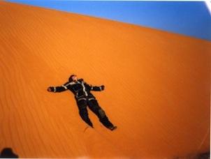 lying on dune4