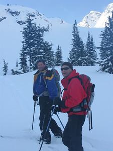 BC 2009 Splitboarding with Mark Dewierdt.