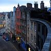 View from Maxies Bistro, Edinburgh