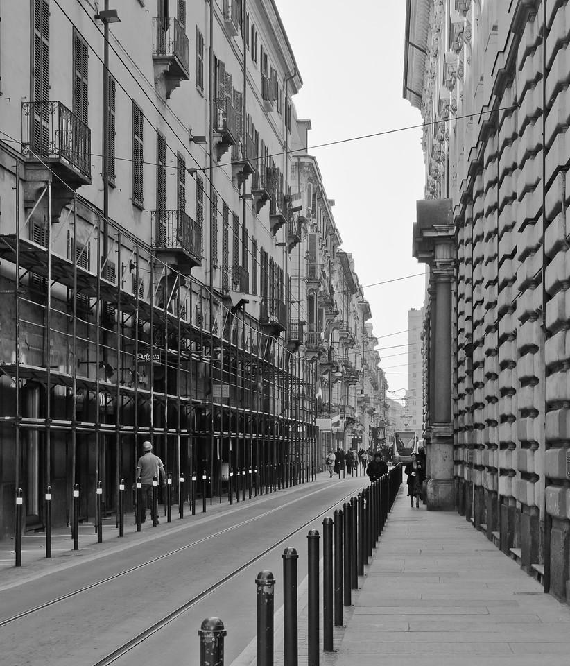 street scene in Torino