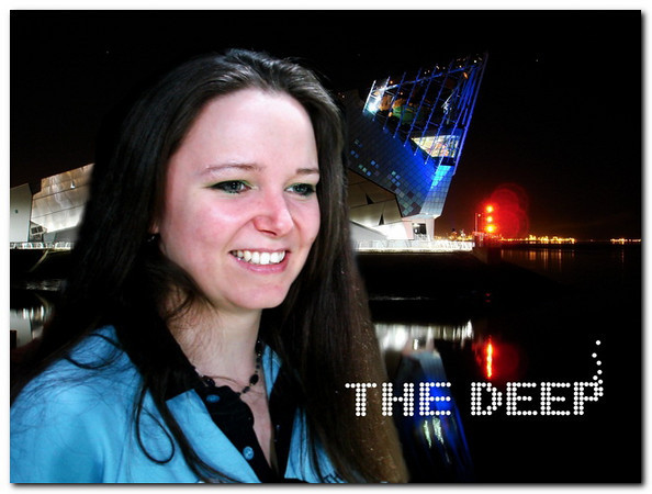 girl and deep with logo