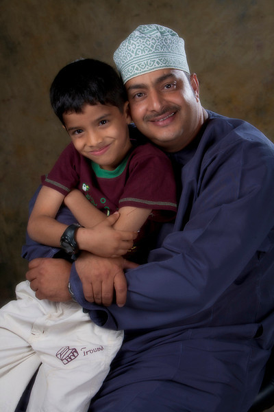 with my son Dawood