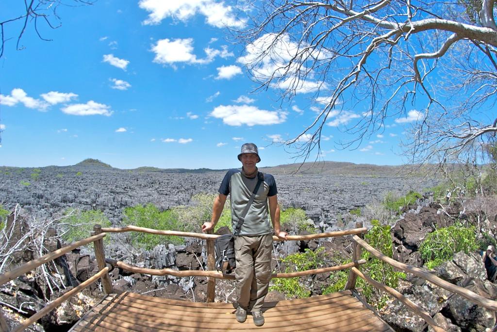 me at Ankarana Tsingy