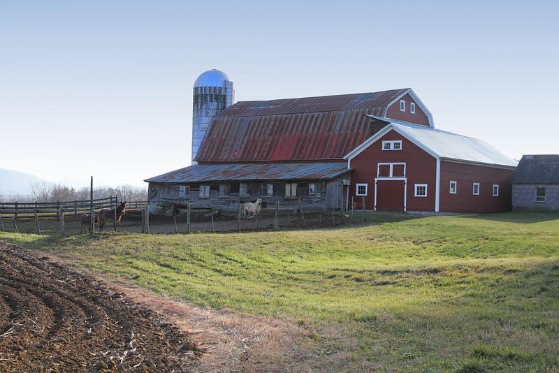Plowed field   --farm in Monkton, VT.