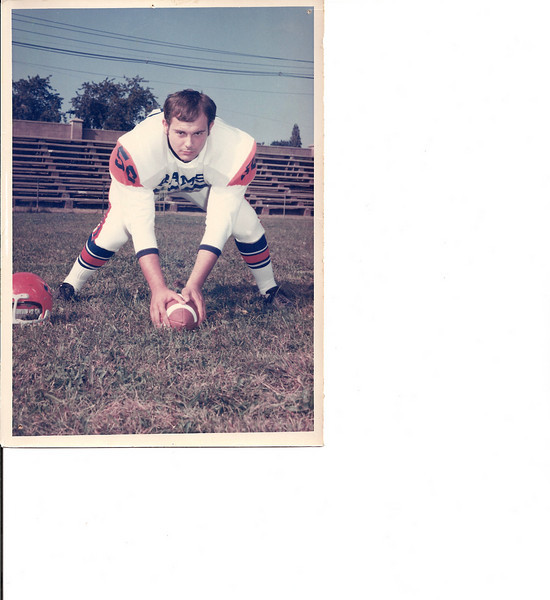 """JOHN OLLER""""s Glory Days:Lodi high school class of 1970  Center, played varsity Football for 3 years, was All - league in NBIL conference both 69 and 70 as Center and all county honorable mem  in both Bergen and Passaic Counties in junior and senior years.."""