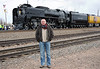 November 2010, here I am at Sidney Nebraska during UP 8444's refueling stop on her return to Cheyenne from North Platte. Boy was it COLD.