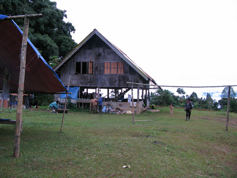 This is the lodge at Mt. Kitanglad, Bukidnon.