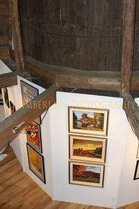 Art Exhibit at the Round Barn in Waitsfield, VT  - August 2010