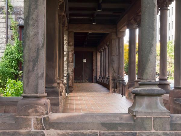 Trinity Church Columns