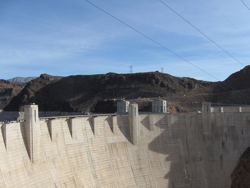 HOOVER DAM BUILT 1931 COMPLETED IN 1935