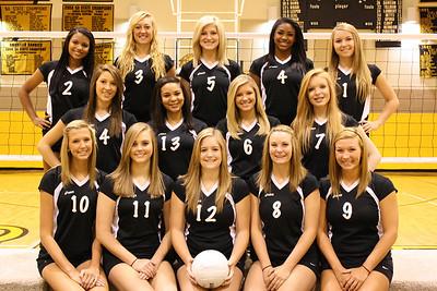 2011 Sandie Varsity Volleyball - TRUE GRIT!