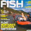 Cover Image of Jim Klug and his dog Boone on the Smith River, Montana. Cover photo by Jim R Harris Bozeman Montana Photographer