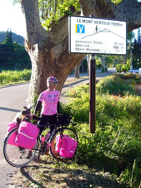 Mt Ventoux start