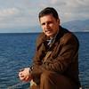 In Reggio di Calabria, on Messina Strait, in February 2009. Behind me is Sicily...<br /> Photo by Laurentiu Stancu