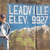 Dave at Leadville CO airport during mountain flying training, 1996?