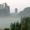 Grailville in the early morning fog_Loveland Ohio