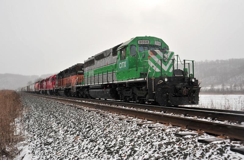 Winter Train - 02