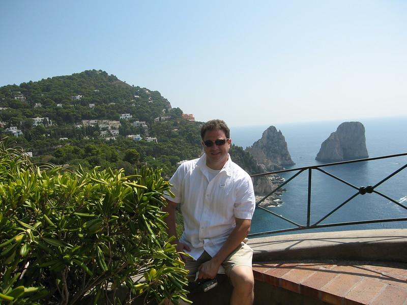 Aldo Grillo on Capri