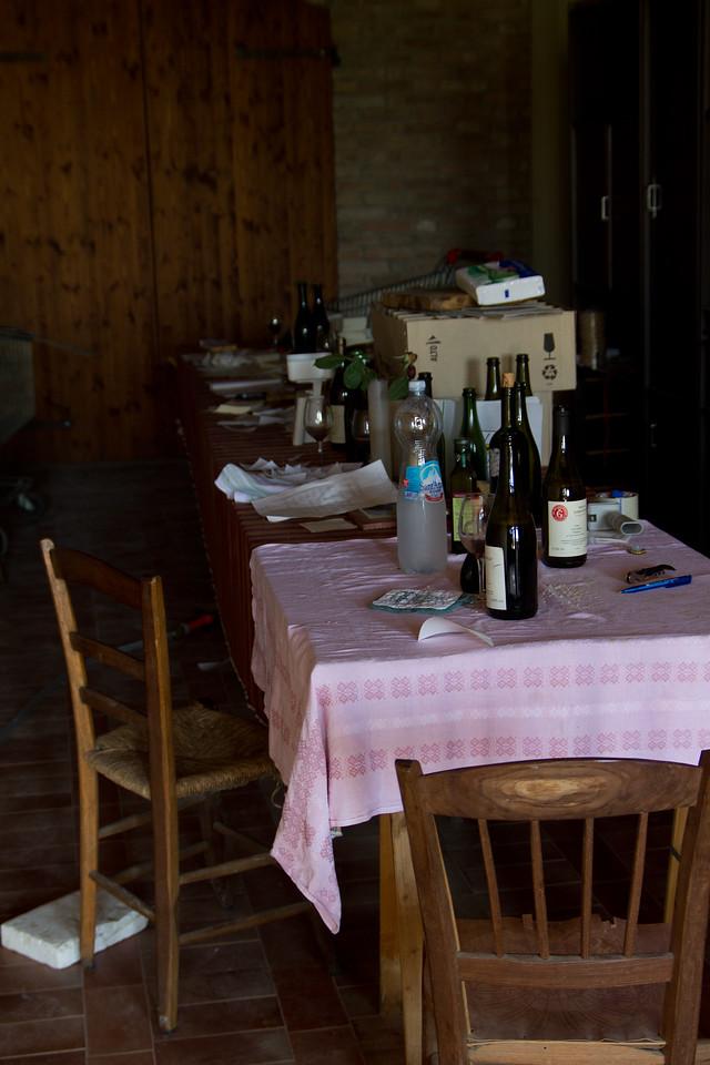 Vittorio  Graziano  Cellar tasting room
