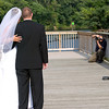 Working a wedding on the historic Occoquan River, Washington, DC late July 2009