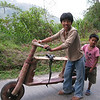 Wood Scooter<br /> Banaue, Philippines<br /> <br /> February 2010
