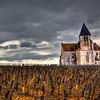 Eglise du XVI ème siècle, autrefois saint Pierre-aux-Liens, dont la chapelle du transept nord est dédiée à sainte Claire, est située en plein cœur du vignoble de Chablis, à l'écart du village de Préhy<br /> Préhy - Yonne - France