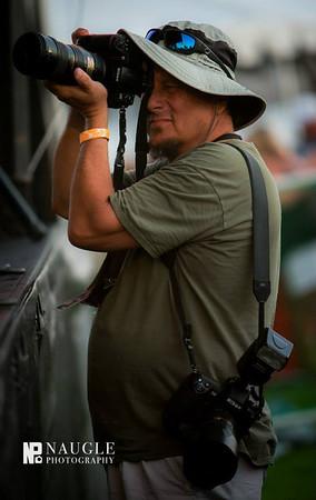 Tom with camera