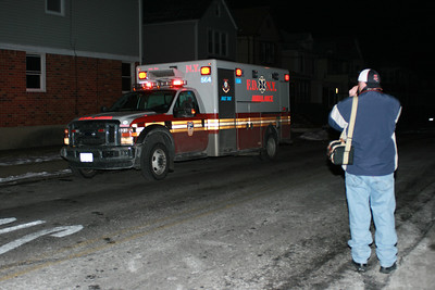 And of course I get caught taken a picture of an ambulance! At Queens NY Box 75-6081. Thanks Pat!