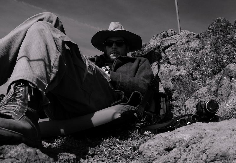 Me at Mule Peak LO, WWNF, Eagle Cap Wilderness, OR
