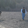 We were walking down the Eel river in January of 2012. It was easily below 30 degrees and the wind was blowing during the day, the coldest I have been with out snow on the ground.