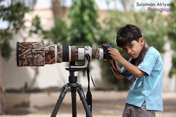 "My Son "" Dawood "" with Canon EF 500 f/4 L lens"