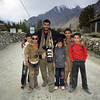 "with Pakistani boys, Hunza ""North Pakistan"" , هنزه , شمال باكستان"