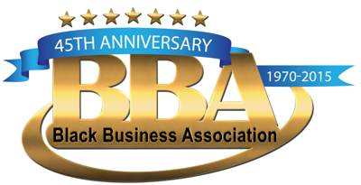 BBA 45th logo