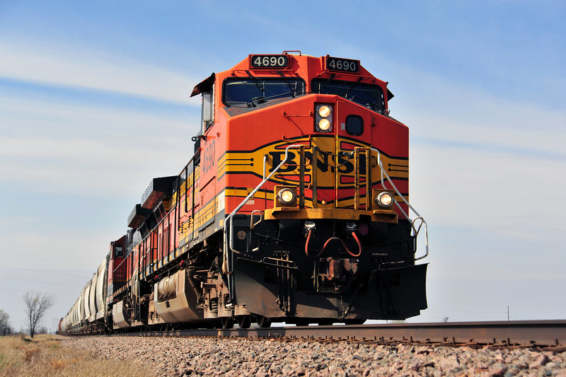 BNSF Train in Central MN