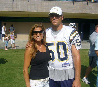 Dave Binn (Deebs) & I - Charger Mini Camp