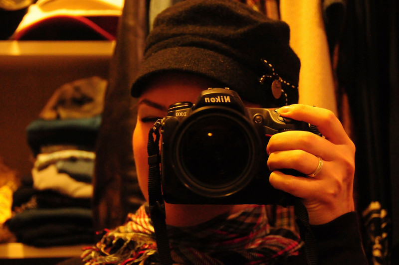 Amelia Michelle Photography<br /> Self Portrait with camera of choice!