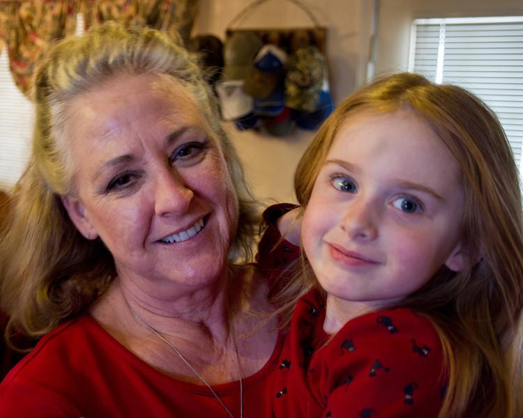 Bev & Sage @ Christmas 2010