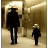 Little Man<br /> <br /> I spotted these 2 Amish boys when we were sitting in the waiting room at the Mayo Clinic.. Before they walked down the hallway, the little boy had been gazing out the huge floor-to-ceiling windows with a look of total of awe on his face, all the while asking the older boy a million questions.
