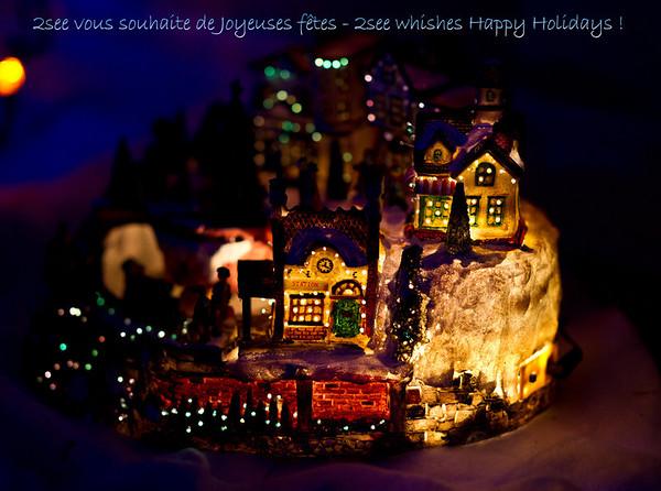 Joyeuses fêtes - Happy Holidays !