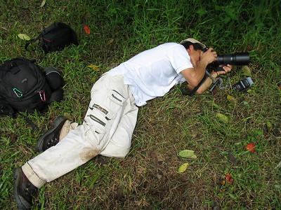 me, shooting