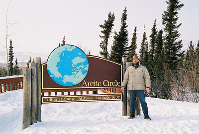 Me at Arctic Circle sign2