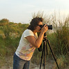Chasing the sunset at Tangier Island.  Photo by Pat.